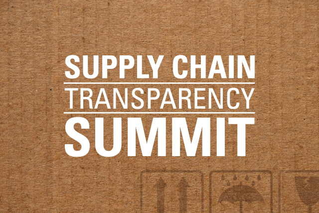GreenBiz 19 Supply Chain Transparency Summit