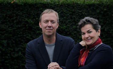 """Christiana Figueres and Tom Rivett-Carnac, authors of """"The Future We Choose: Surviving the Climate Crisis."""""""