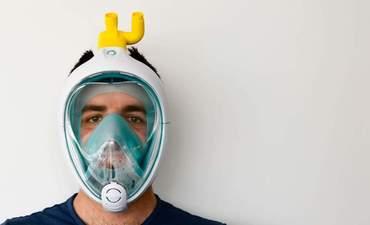Isinnova respirator mask