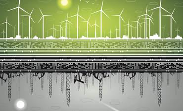 Green economy visual