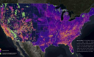 NatureServe, map on biodiversity