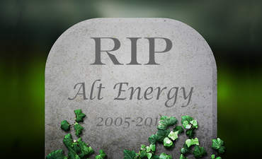 The death of 'alternative energy' featured image