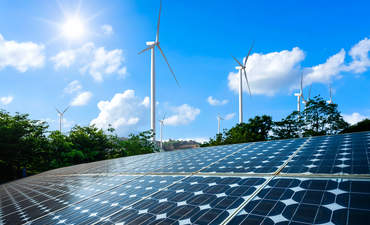 Solar and wind project