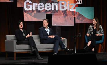 Deon Stander, Kate Daly, GreenBiz 20