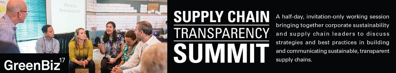 GreenBiz 17 Supply Chain Transparency Summit