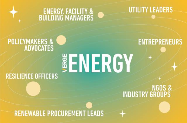 VERGE Energy Conference Participants